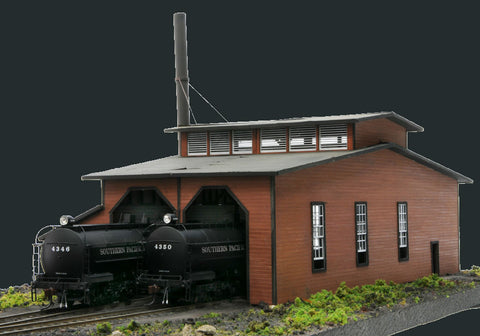 Banta Modelworks HO Port Costa Roundhouse Kit