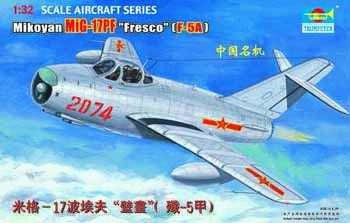 Trumpeter Aircraft 1/32 Shenyang F5A/Mig17 PF Single-Seat Chinese Fighter Kit