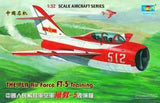 Trumpeter Aircraft 1/32 Shenyang FT5 Trainer 2-Seater Fighter Kit