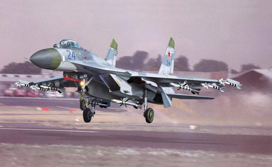 Trumpeter Aircraft 1/32 Sukhoi Su27 Flanker B Russian Fighter Kit