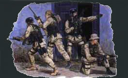 Dragon Military Models 1/35 Delta Force (4) Kit