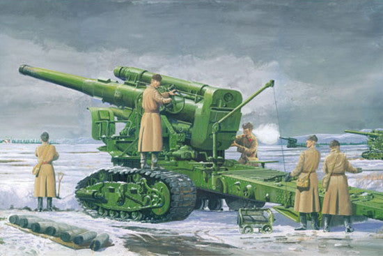 Trumpeter Military Models 1/35 Soviet Army B4 M1931 203mm Howitzer Kit