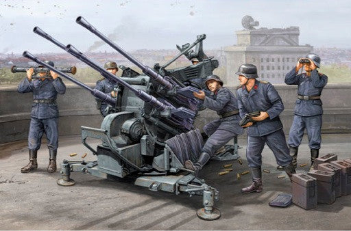 Trumpeter Military Models 1/35 German 2cm Flak 38 Gun Kit