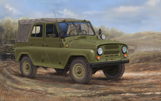Trumpeter Military Models 1/35 Soviet UAZ469 All-Terrain Vehicle Kit