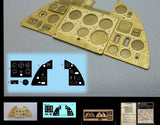 Airscale Details 1/24 Hurricane Mk 1 Instrument Panel (Photo-Etch & Decal) for ARX