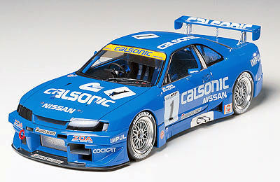 Tamiya Model Cars 1/24 Calsonic Skyline GTR Car Kit