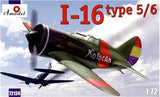 A Model From Russia 1/72 I16 Type 5/6 Soviet Fighter (Spanish/Red Army) Kit