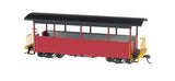 Bachmann On30 Spectrum Excursion Car, Burgundy/Black Roof
