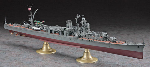 Hasegawa Ship Models 1/350 Japanese Navy Yahagi Light Cruiser Operation Ten-Ichi-Go 1945 Kit