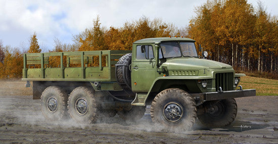 Trumpeter Military Models 1/35 Russian URAL 375D Truck (New Variant) Kit