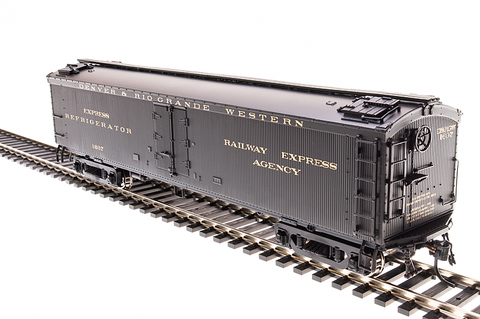 Broadway Limited Imports HO GACX 53.6' Wood Express Reefer D&RGW #1607