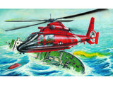Trumpeter Aircraft 1/48 HH65A Dolphin Search & Rescue Helicopter Kit