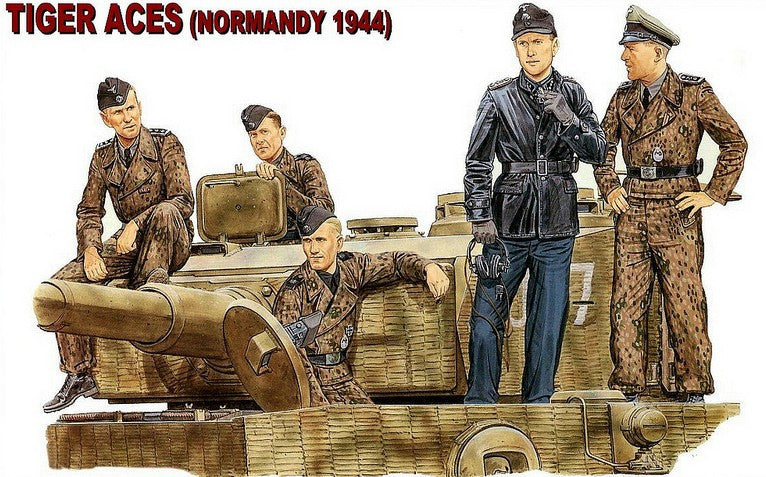 Dragon Military Models 1/35 Tiger Aces Normandy 1944 (5) Kit