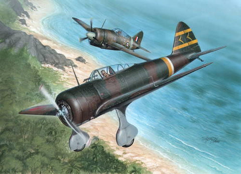 Special Hobby Aircraft 1/32 Nakajima Ki27 Otsu Aircraft over Malaya & Philippines Kit