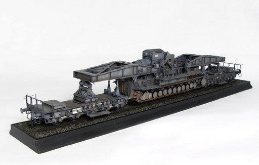 Trumpeter Military Models 1/35 Morser Karl-Gerat 040/041 on Railway Transport Carrier Initial Version Kit