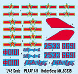Hobby Boss Aircraft 1/48 Chinese PLAF J-5 Fighter Kit