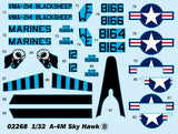 Trumpeter Aircraft 1/32 A4M Skyhawk Carrier Launched Ground Attack Aircraft Kit