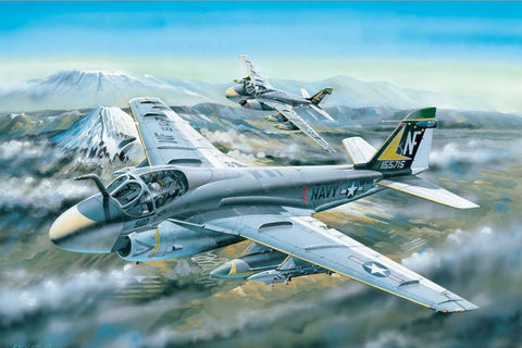 Hobby Boss Aircraft 1/48 A-6A Intruder Kit
