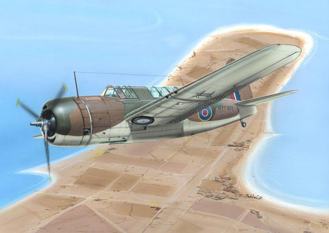 Special Hobby Aircraft 1/72 WWII Bermuda Mk I British Bomber Kit