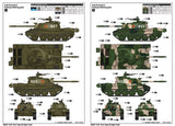 Trumpeter Military Models 1/35 PLA Chinese Type 62 Light Tank (New Tool) (DEC) Kit