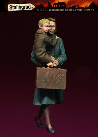 Stalingrad 1/35 Woman and Child