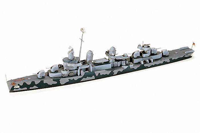 Tamiya Model Ships 1/700 USS Fletcher DD445 Destroyer Waterline Kit
