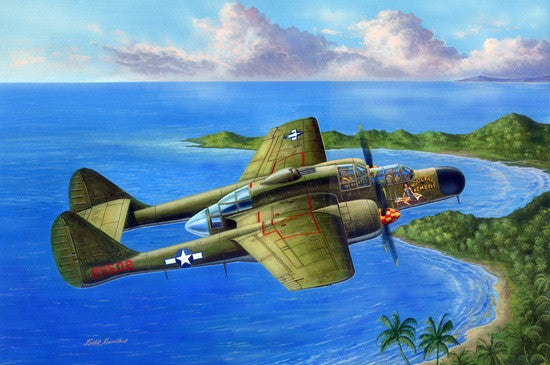 Hobby Boss Aircraft 1/48 US P-61A Black Widow Kit