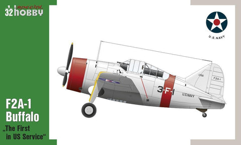 Special Hobby Aircraft 1/32 F2A1 Buffalo Fighter The First in US Service Kit