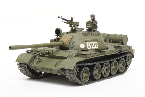 Tamiya Military 1/48 Russian T55 Medium Tank Kit