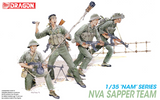 Dragon Military Models 1/35 North Vietnamese Army Sapper Team (4) Kit