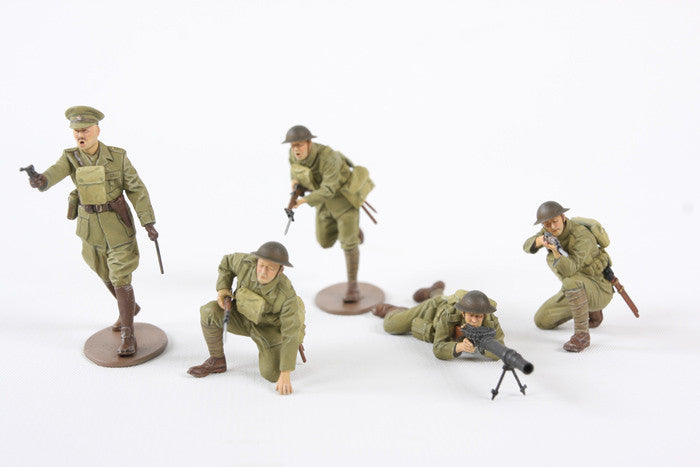 Tamiya Military 1/35 WWI British Infantry (5 Figures) Kit
