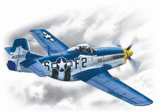 ICM Aircraft 1/48 WWII USAF P51D15 Mustang Fighter Kit