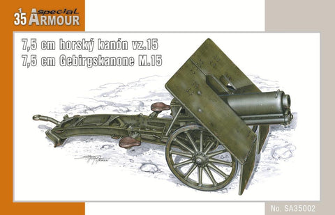 Special Hobby Military 1/35 7,5cm M15 Mountain Gun Kit