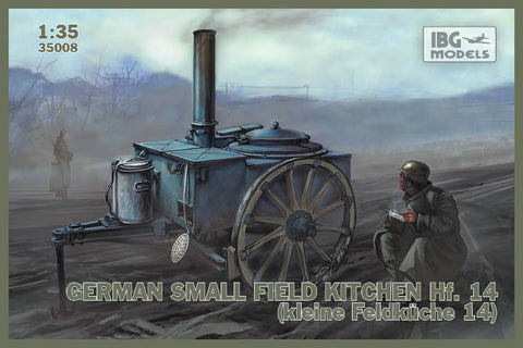IBG Military Models 1/35  WWII Hf14 German Small Field Kitchen Kit