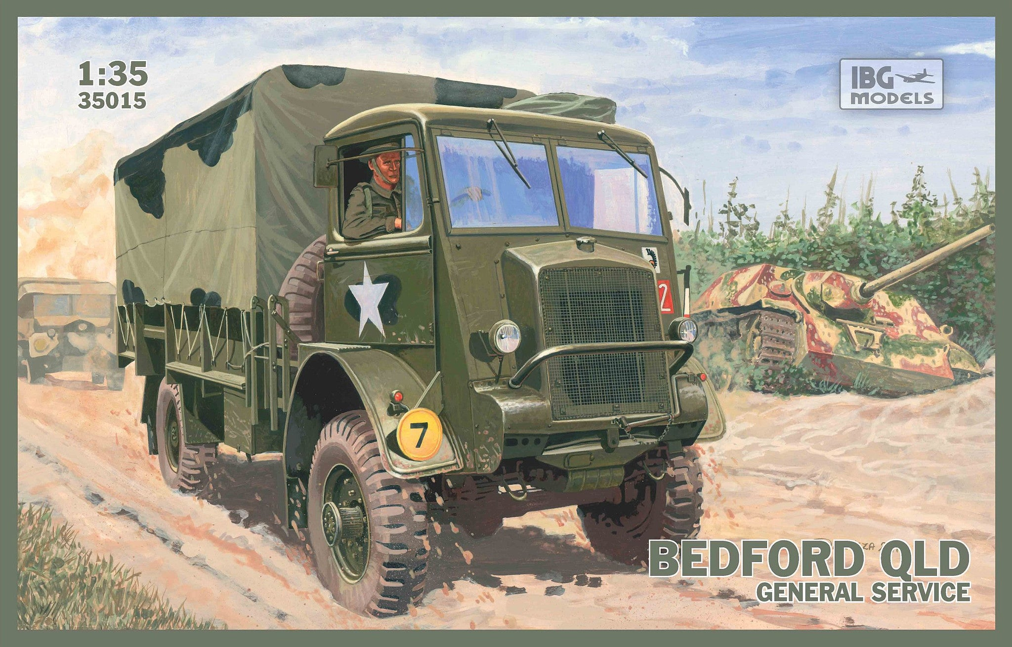 IBG Military 1/35 Chevrolet C15A Personnel Lorry (No. 13 & No. 12 Cab Versions) Kit