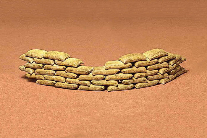Tamiya Military 1/35 Sand Bag Set Kit