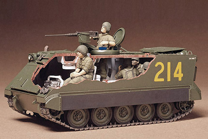 Tamiya Military 1/35 US M113 Armored Personnel Carrier Kit