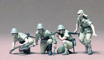 Tamiya Military 1/35 Japanese Army Infantry Kit
