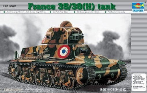 Trumpeter Military Models 1/35 French 35/38(H) Tank w/37mm SA18 L/21 Gun Kit