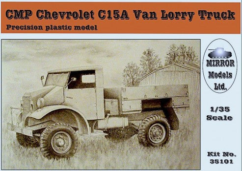 Mirror Models Military 1/35 CMP C15A Van Lorry Truck Kit