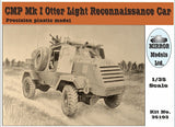 Mirror Models Military 1/35 CMP Mk I Otter Light Recon Car Kit