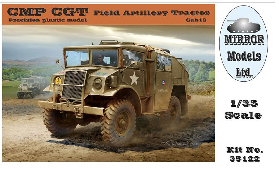 Mirror Models Military 1/35 CMP CGT Cab 13 Field Artillery Tractor Kit