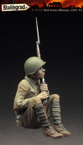 Stalingrad 1/35 Red Army Rifleman, 1941-42