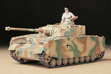 Tamiya Military 1/35 PzKpfw IV Ausf H Early Tank Kit