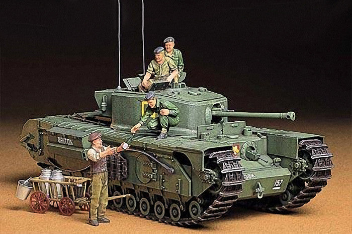Tamiya Military 1/35 British Churchill Mk VII Tank Kit