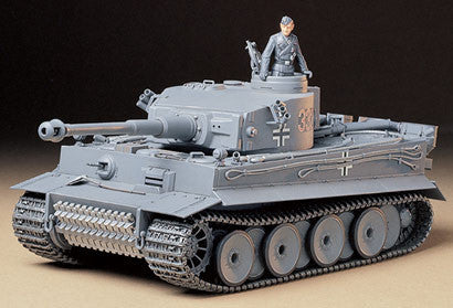 Tamiya Military 1/35 Tiger I Early Tank Kit