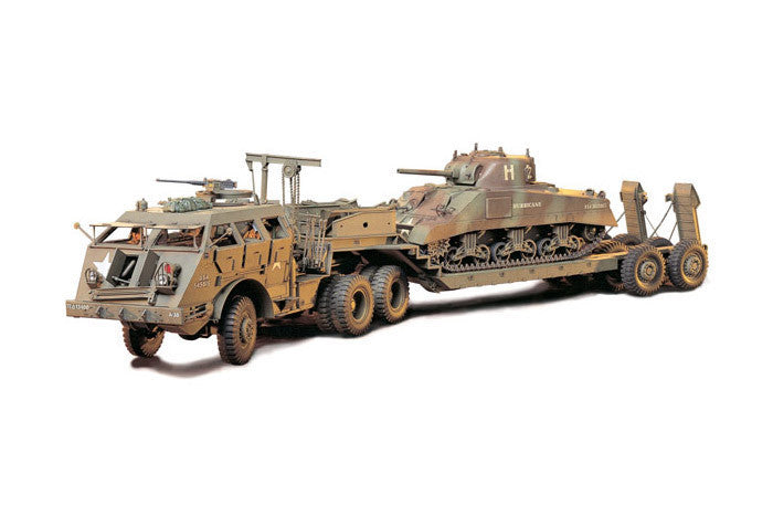 Tamiya Military 1/35 US 40-Ton Tank Transporter Kit