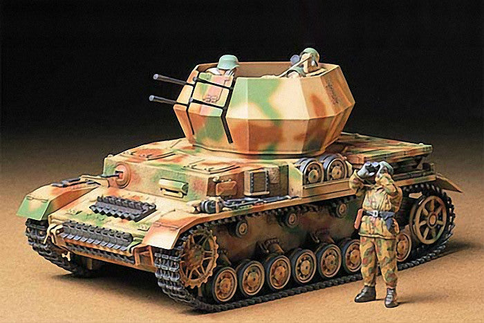 Tamiya Military 1/35 German Flakpanzer IV Wirbelwind Tank Kit