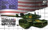 AFV Club Military 1/35 M60A3 Patton Main Battle Tank Kit