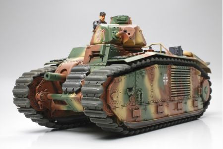 Tamiya Military 1/35 German Army B1 Bis Tank Kit